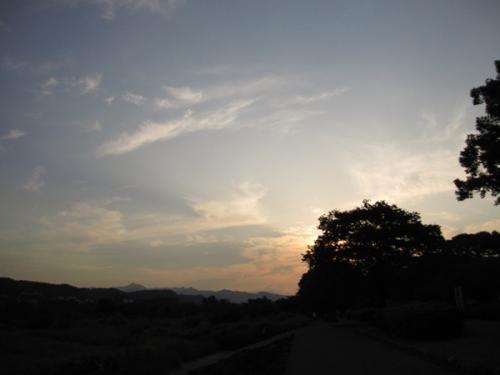 2009613夕陽