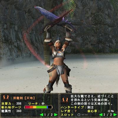 双剣002:双龍剣【天地】