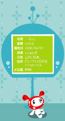 ひぃこ-ししゅんき