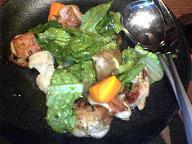 地鶏と温野菜のサラダ