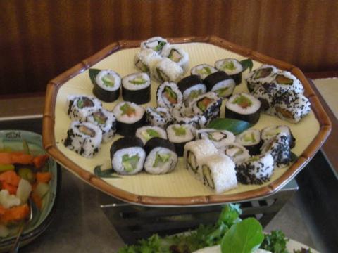 エクセルシオール・マルタの寿司