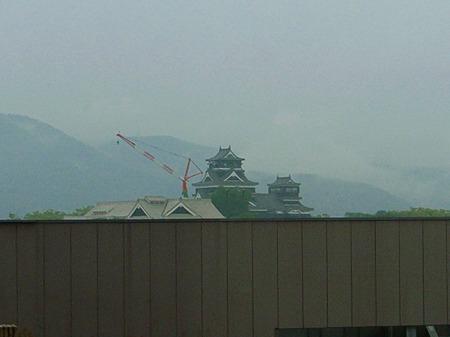 ホテルから熊本城