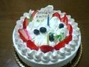 お誕生ケーキ( ´艸`)
