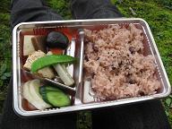 正暦寺のお弁当