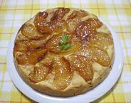 りんごキャラメリーゼケーキ