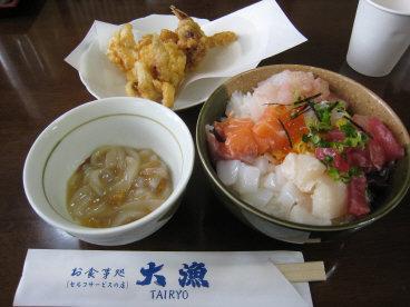 08-05大三島の海鮮丼