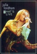 That's Live / Julia Fordham (DVD)