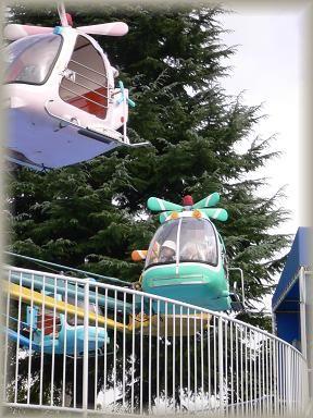 ヘリコプター^^