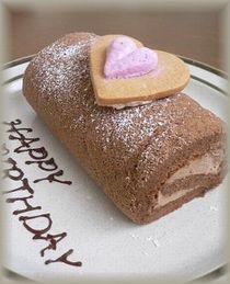 またロールケーキ・・・・