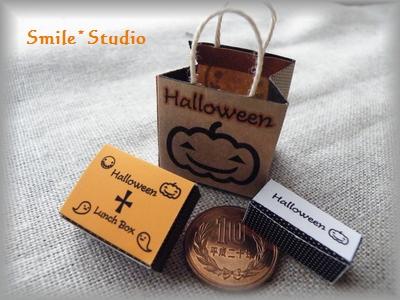 ハロウィン箱×紙袋2
