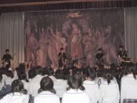 08年 東高校モザイクアート。