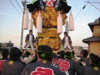 東田太鼓台の指揮者