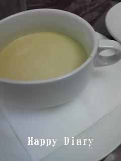 ラ・ボエムのランチのスープ