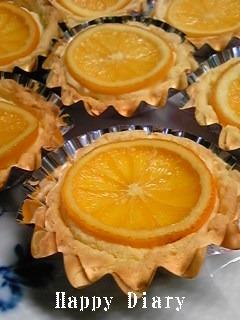 オレンジチーズケーキ