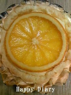 オレンジチーズケーキ2
