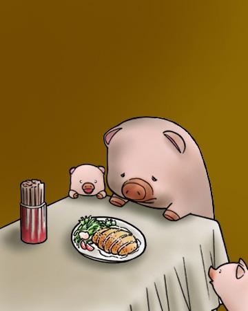 ショボーン豚