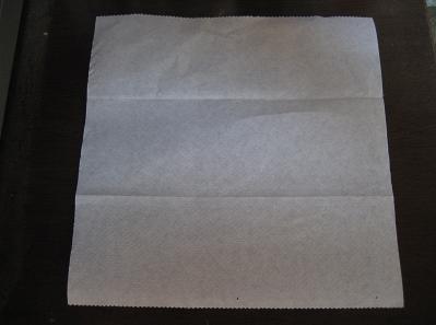 紙を開きます