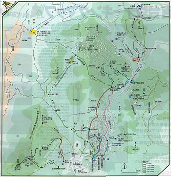秋吉台ウォーキングマップ-1