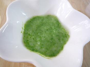小松菜がゆ