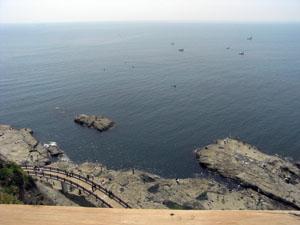 魚見亭からの絶景