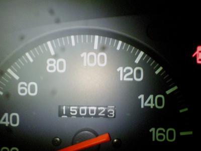 余裕綽々の150.000km