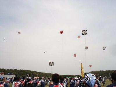 凧揚げ合戦
