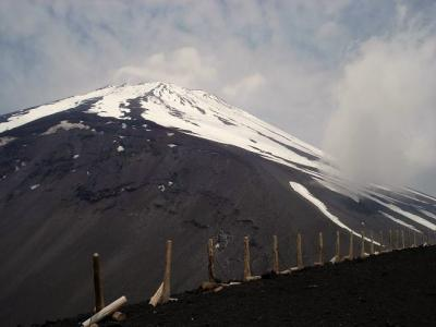 宝永山からの富士山
