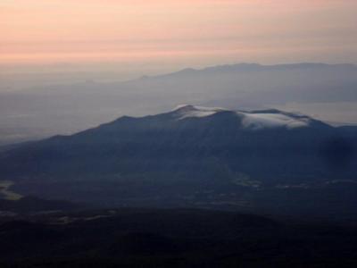 朝5時の愛鷹山