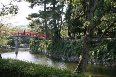 岡崎城お堀