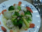 野菜のサラダ仕立て