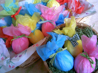 卵たくさん