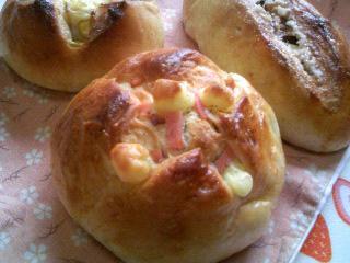 八重桜酵母パン