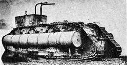 模型ブログ・イギリス軍・菱形戦車