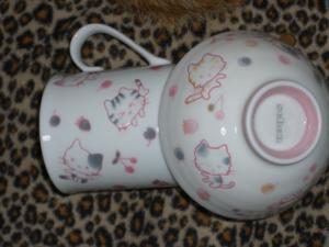 マグカップとお茶碗