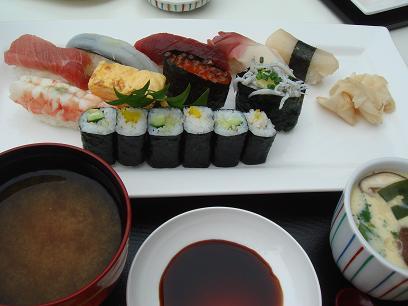 寿司ランチセット
