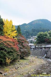 奈良県室生寺入り口
