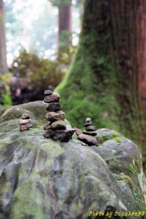 室生寺石積み