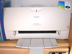CANONのプリンターBJC-420J