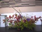 披露宴のテーブルのお花。