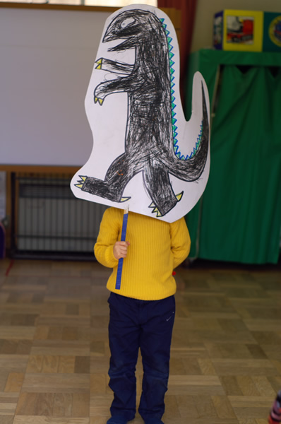 ティラノサウルス。