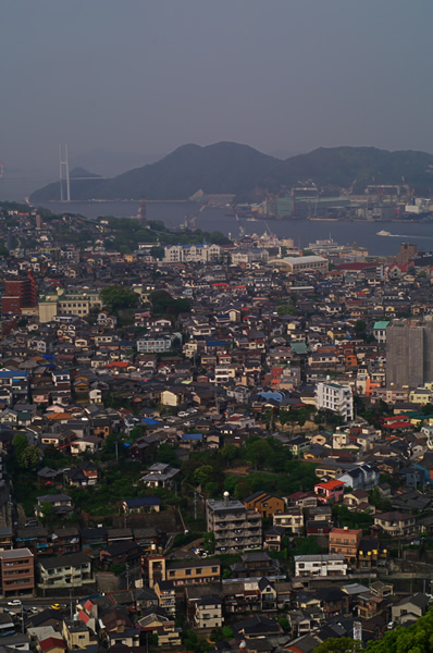 長崎の街。