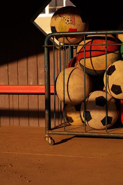 ボールたち。