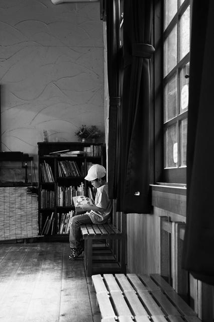 読書の時間です。