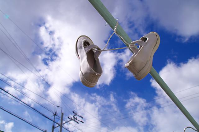 青空と上靴と。