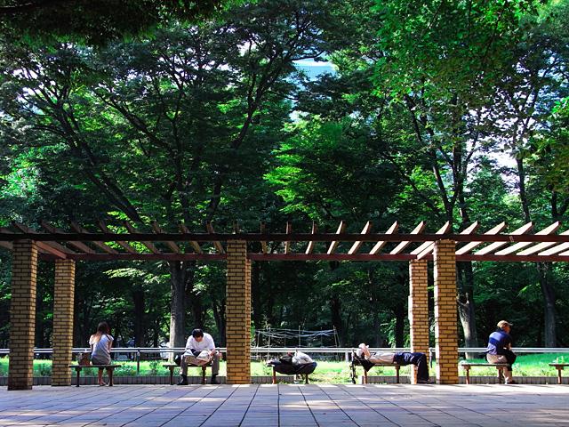 東京の休息