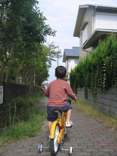 自転車でどこまでも。
