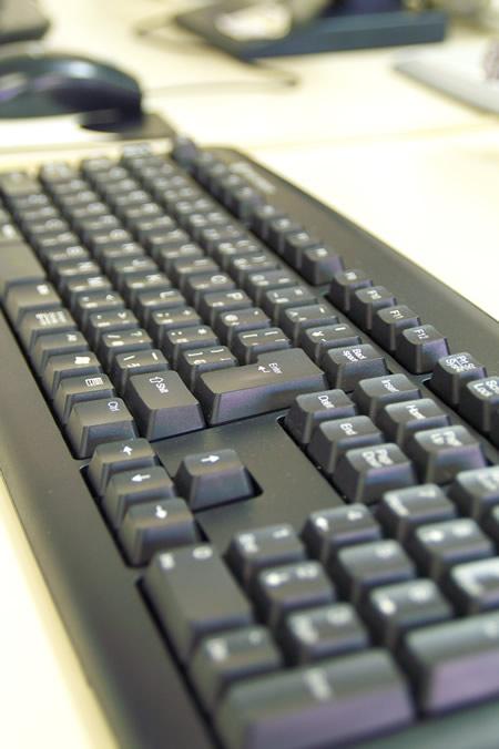 パソコン。