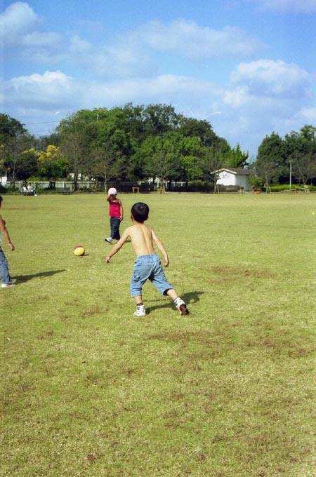 サッカー。