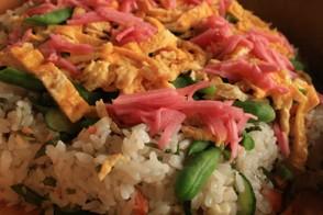ブログ 散らし寿司