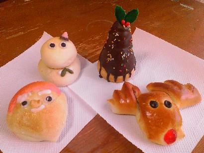 パンもクリスマス仕様☆
